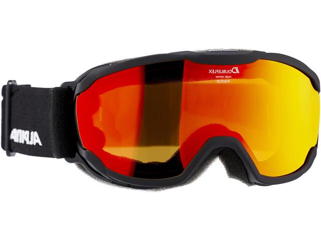 Alpina Pheos MM Goggles Junior black/orange